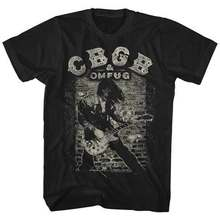 Cbgb guitare t-shirt S M L Xl 2Xl tout nouveau t-shirt officiel(China)
