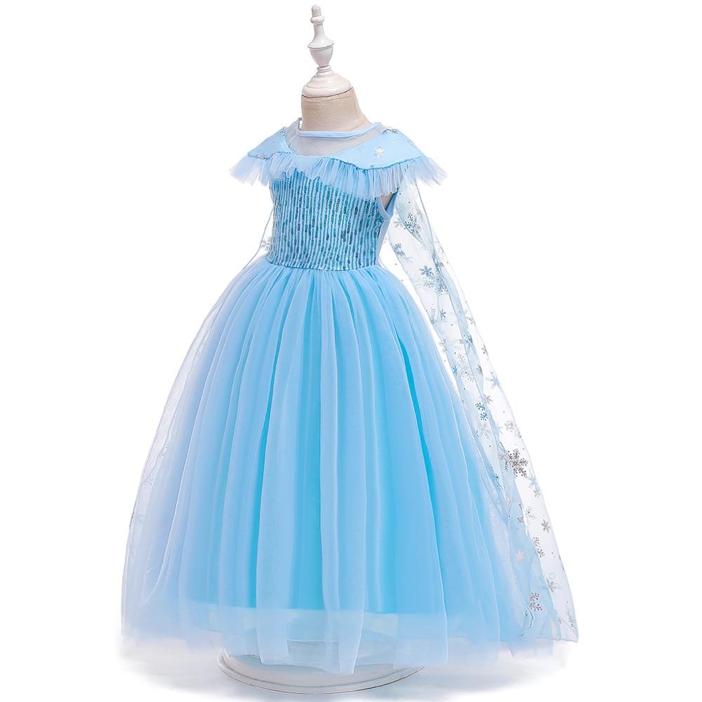 Hd91711a398e348a796f533bf43e853fcQ Unicorn Dress Birthday Kids Dresses For Girls Costume Halloween Christmas Dress Children Party Princess Dresses Elsa Cinderella