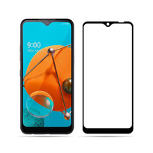 10PCS LGK51 K 51 Tempered Glass For LG K51 Full Cover Screen Protector Protective Hard Film Curved Edge