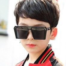 2020  Square Vintage Kids Sunglasses Girls Boys Deluxe Design UV400 New Fashion Glasses Children gafas de sol mujer