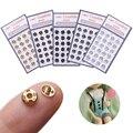 10/24 шт 5 мм мини кнопки кукольные миниатюрные металлические пряжки невидимая защелка DIY ремесла одежда швейная пряжка аксессуары