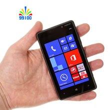 Original Unlocked Lumia 820 Dual-core 4.3″ screen single sim 1GB+8GB 4G-lte Refurbished Windows phone