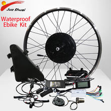 "48V 1000W Ebike Kit mit 20ah Lithum Batterie Elektrische Bike Conversion Kit Bürstenlosen Motor Rad DIY für 20 ""26"" 700C Ebike Kit(China)"