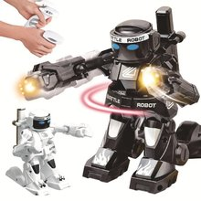 RC Robot Gift Combat Children with Light-Sound Remote-Control Toy Body-Sense for Boys