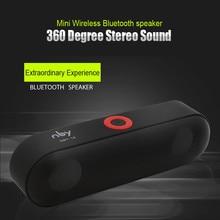 NBY18 bluetooth speaker radio bluetooth waterproof 360 stereo home theater Card speaker
