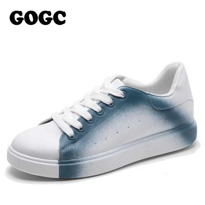 Women Vulcanized Shoes Summer Tape Sneaker 2020 Spring Autumn Knitting Breathable Shoe Chunky Platform Sneakers Women