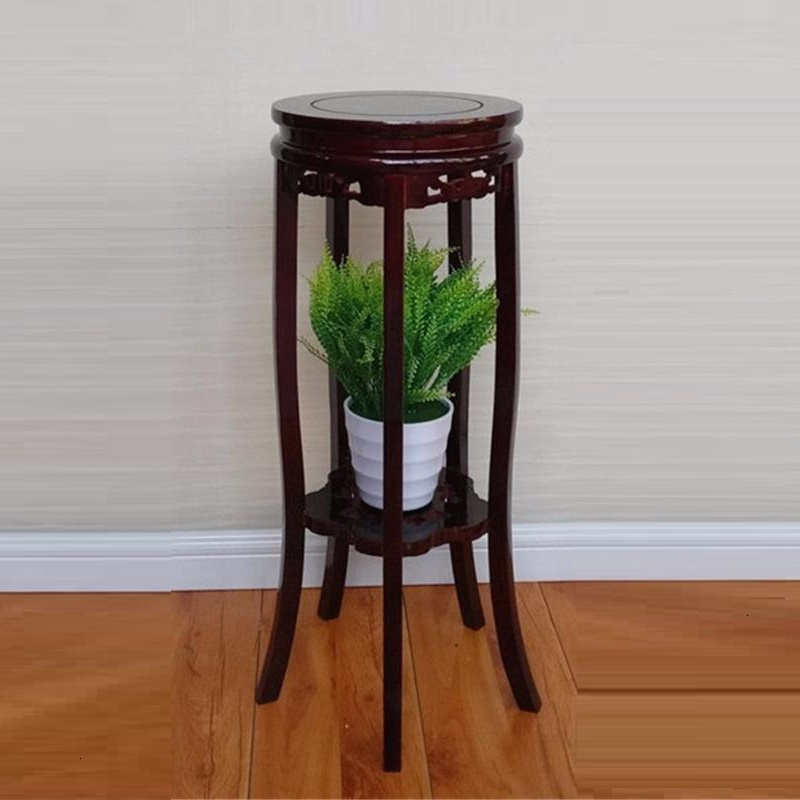 Decorativa Madera Indoor Estanteria Para Macetas Wood Table Balcony Rack Stojak Na Kwiaty Outdoor Flower Stand Plant Shelf