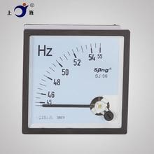 Mesa de frecuencia CP-96 CZ-96, medidor de Hz, 45-55Hz, 45-65Hz, 55-65Hz, SJ-96, CA 110V 220V 380V, 1 Uds.