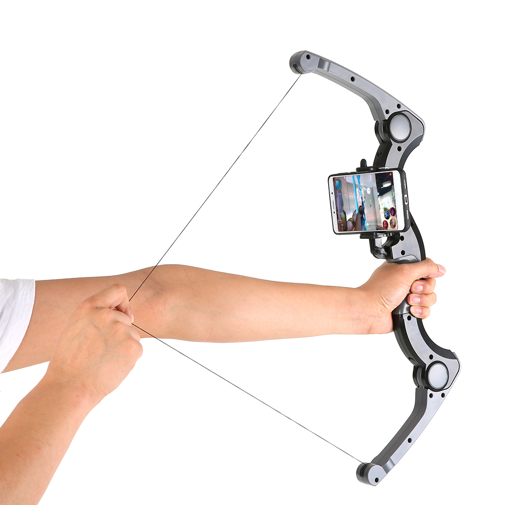 AR Bow And Arrow Wireless Bluetooth Game Controller AR Archer Augmented Reality Shooting Game AR Game Folding Smart Bow Boy Toys