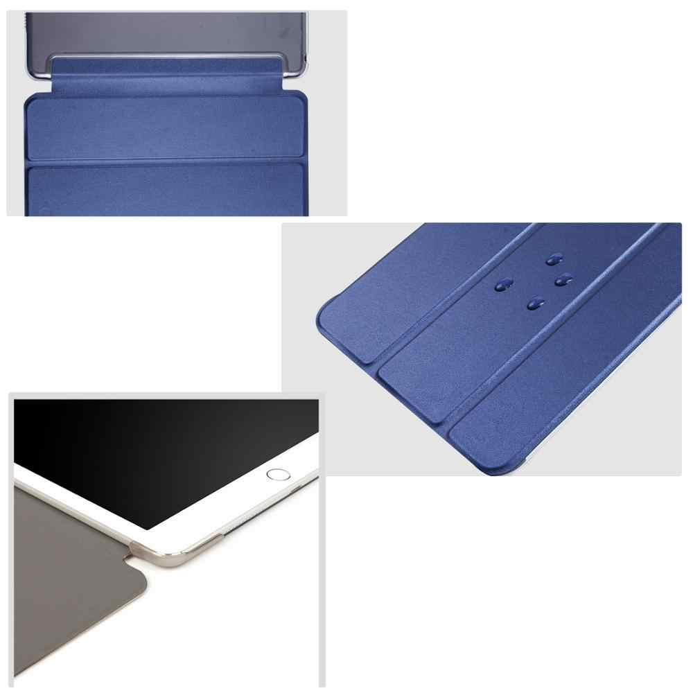 "Tablet Case untuk Huawei MediaPad T5 10.1 ""Smart Tidur Bangun Pelindung Solid Shell Berdiri Lipat Tiga untuk AGS2-W09/W19/L03/L09"