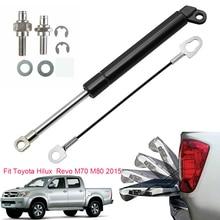цена на For Toyota Hilux SR5 M70 M80 REVO 2015 2016 Tailgate Assist Slowdown Gas Struts Lift Spring Shock Rod Car Accessories
