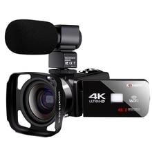 Real 4k WiFi Video Camcorder 48MP Recorder Streaming Vloggin