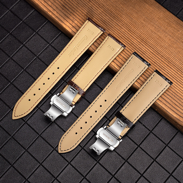 SEURE kordonlu saat 12mm 18mm 19mm 20mm 21mm 22mm 24mm buzağı hakiki deri saat kayışı timsah tahıl saat kayışı için uygun Tissot