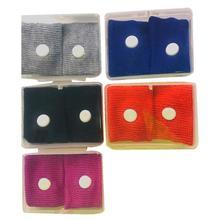1 пара регулируемый хлопок браслет многоразовый против тошноты акупрессура браслет для движения или утра недомогания облегчения