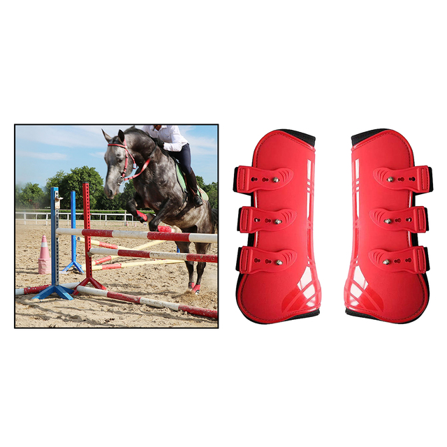 Tendon Boots Fit Snuggly For Your Horses Protection  2