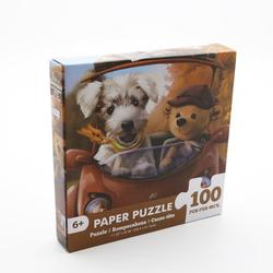 Jigsaw Puzzle 100 Pieces Assembling Picture Photo Educational Stress Relief Toy For Adults Children Home Decor Puzzles With Box