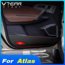 Vdéchirer – autocollant anti-coup de pied pour Geely Atlas Emgrand NL-3 Proton X70, tapis en fibre de carbone, anti-rayures pour porte, accessoires de style automobile
