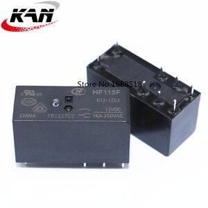 Image 3 - 10pcs Relay HF115F 005 1ZS3 HF115F 012 1ZS3 HF115F 024 1ZS3 250V 16A relay 8 pin relay 5V/12V/24VDC relay