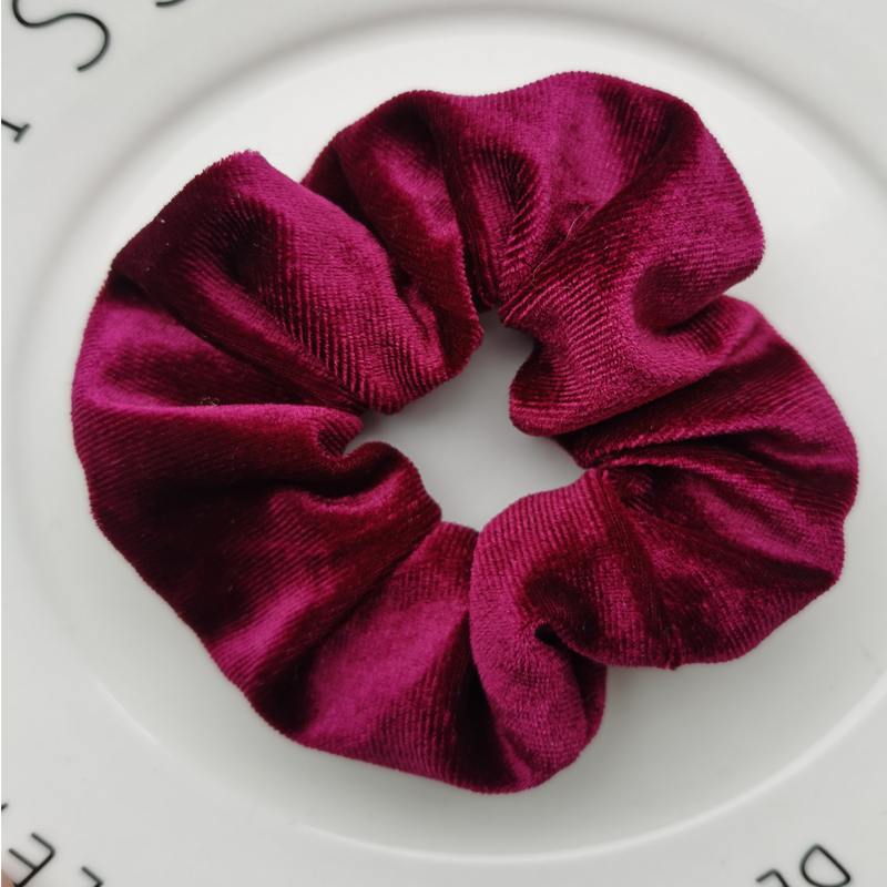 Женские бархатные резинки для волос, одноцветные резинки для волос, заколки для волос, эластичные резинки для волос, аксессуары для волос, головные уборы - Цвет: style 14