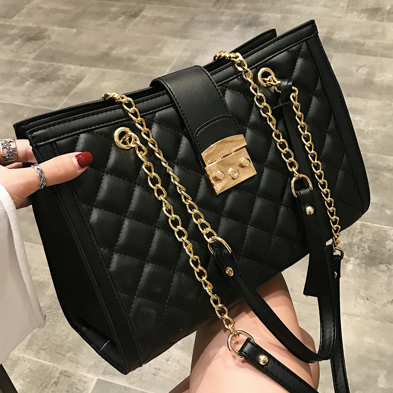 Luxury Brand Designer Crossbody Bag Female 2019 Women Handbag Chain Shoulder Bag Female Quality Messenger Bag Luis Vuiton Gg Bag