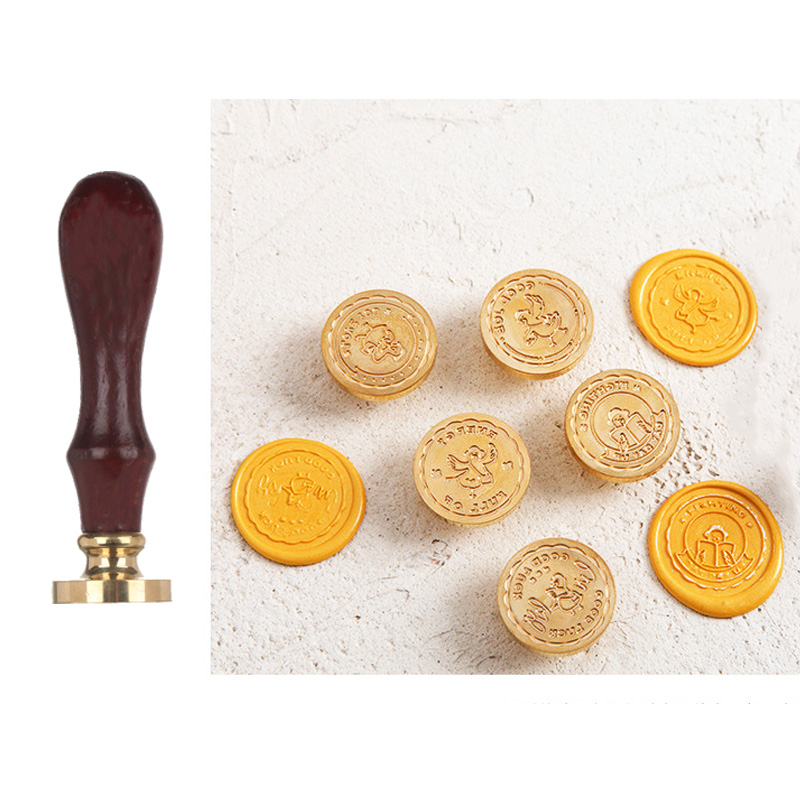Wax Seal Love You Word Alphabet Sealing Wax Stamp Duck Wax Stamps For DIY Wedding Envelope Handmade Hobby Tools