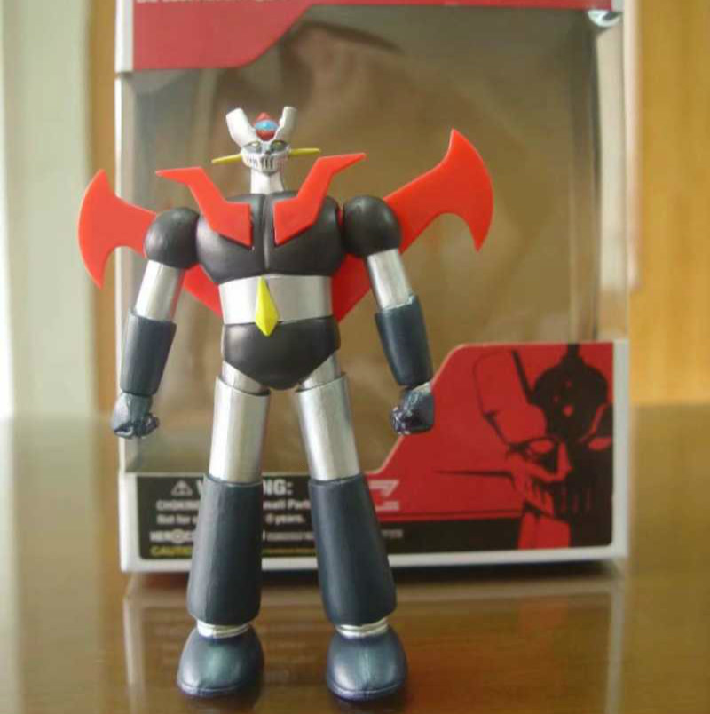 Anime <font><b>Mazinger</b></font> <font><b>Z</b></font> Die Cast Action <font><b>Figure</b></font> Collectible Robot Doll Model Toy Kids Birthday Christmas Gift image