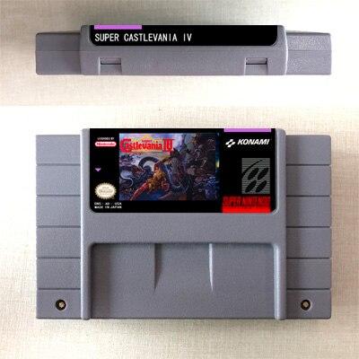 Super Castlevania IV 4 - Action Game Card US Version English Language