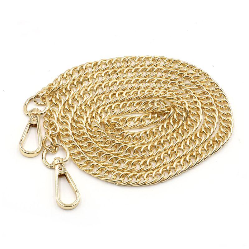 120cm Metal Replacement Purse Chain Strap Handle Shoulder Crossbody Handbag Bag X5XA