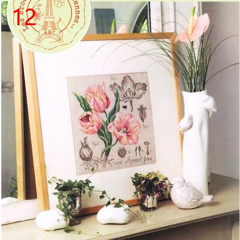 12 DFEA-阴影花系列38罂粟 Etude a la Tulipe. Apricot Foxx