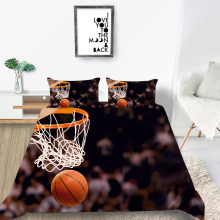 Scoring Bedding Set Basketball Fashionable 3D Life