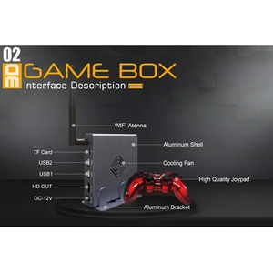 Image 5 - ホット3C 4K hdmiテレビゲーム版ホスト3Dビデオゲームコンソール機ビルドの2000無料ゲームwifiとサポートすべてゲームエミュレータ