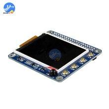 """פטל Pi 2 3 3B/2B/B + 2.2 """"TFT מסך LCD תצוגת כובע עם כפתורים IR חיישן"""