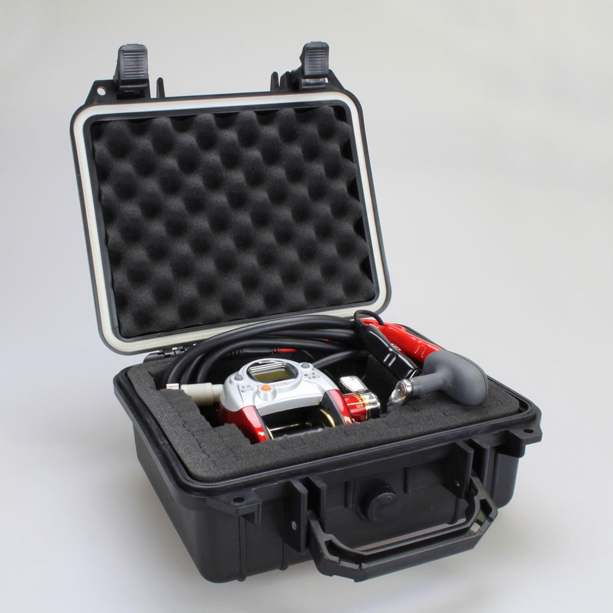 Купить с кэшбэком Tool case toolbox suitcase Impact resistant sealed waterproof plastic case equipment box camera case Meter box with pre-cut foam