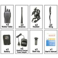 מכשיר הקשר 2pcs Baofeng BF-999 שניות מכשיר הקשר 5W 1500mAh UHF 400-470MHz Baofeng 888s amateu הרדיו משדר HF רדיו חובבים Ricetrasmittenti (3)