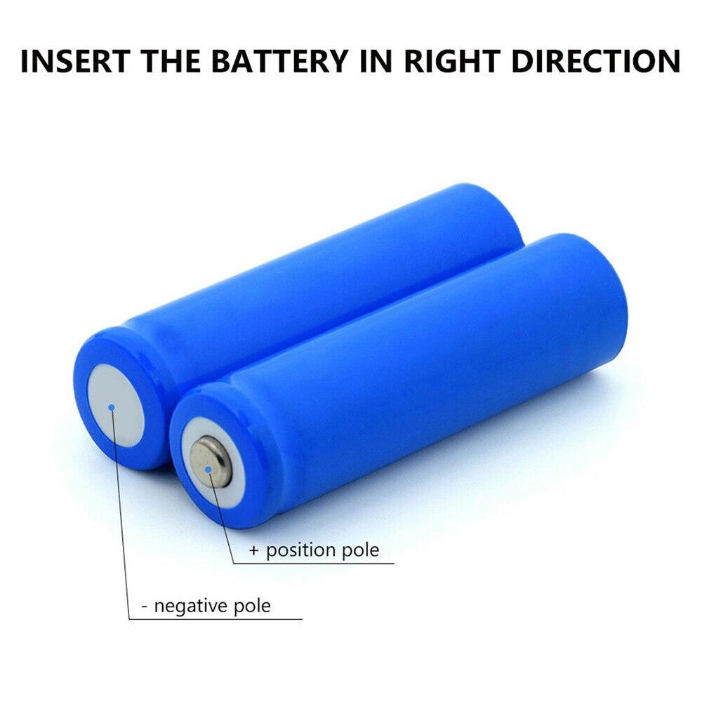 Высокоемкая 14500 батарея 3,7 V 800mAh аккумуляторная батарея для светодиодного фонарика батарея новейшая для фонариков батареи