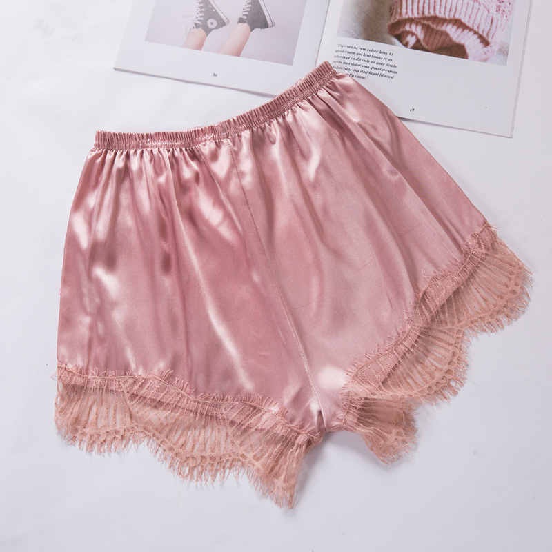 LXS22 2020 New Female Summer Bottoming Lace Casual Wild Shorts