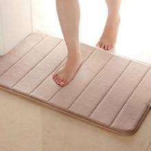 Przydatne 40*60cm maty do kąpieli dywanik w paski do łazienki chłonne antypoślizgowe maty do kąpieli łazienka carpe maty do kąpieli bathroomt
