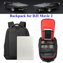Mavic 2 Backpack Carrying Case Anti Shock Box RC Drone Body Remote Control with Screen Storage for DJI Mavic 2 Zoom/Pro Drones