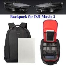 "Mavic 2 תרמיל תיק נשיאה נגד הלם תיבת RC Drone גוף שלט רחוק עם מסך אחסון עבור DJI Mavic 2 זום/פרו מזל ""טים"