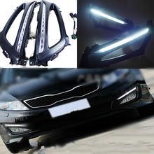 1 комплект Автомобильный светодиодный фонарь для kia optima