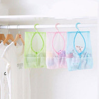 Underwear Socks Sundries Storage Hanging Multipurpose Mesh Bag for Kitchen Bathroom