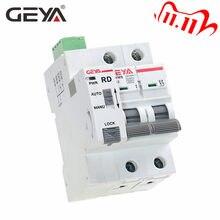 GEYA-disjoncteur de réinitialisation automatique du disjoncteur à réinitialisation automatique, GYM9 2P, pour maison intelligente MCB