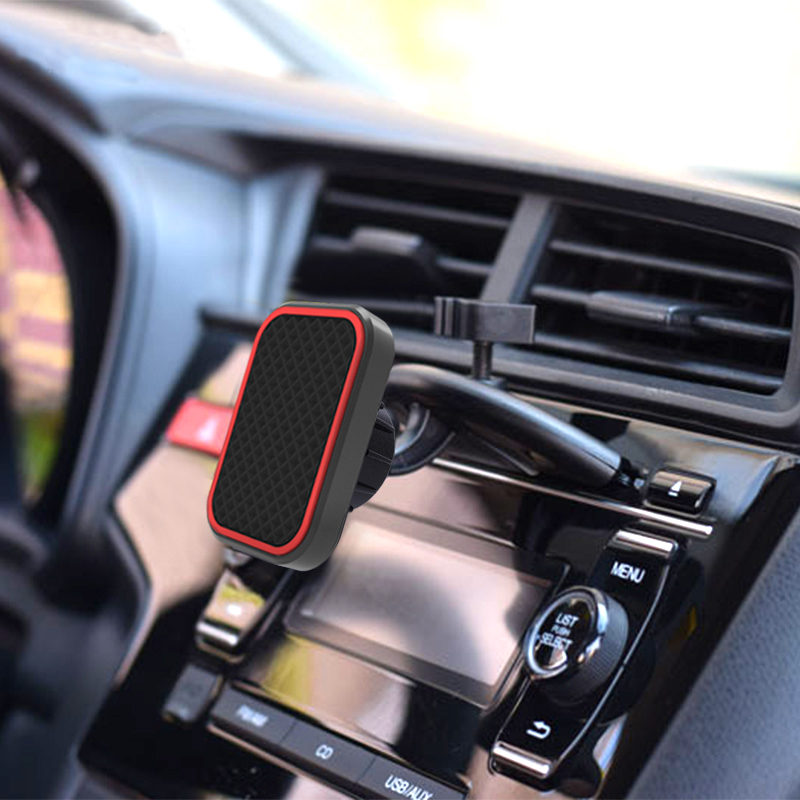 XMXCZKJ Universal Magnetic Phone Car Mount CD Slot Car Phone Holder Stand For Car One-Step Installation 360 Degree Rotatable