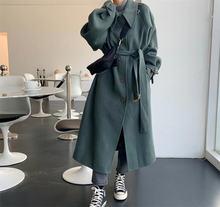 Пальто размера плюс для женщин зима 2020 винтажное Свободное