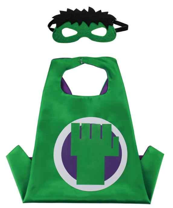 Natale di Halloween Super Hero Costume Del Fumetto Hero Costumi di Gioco Del Capo con Maschere per I Bambini di Compleanno di Cosplay di Trasporto Libero