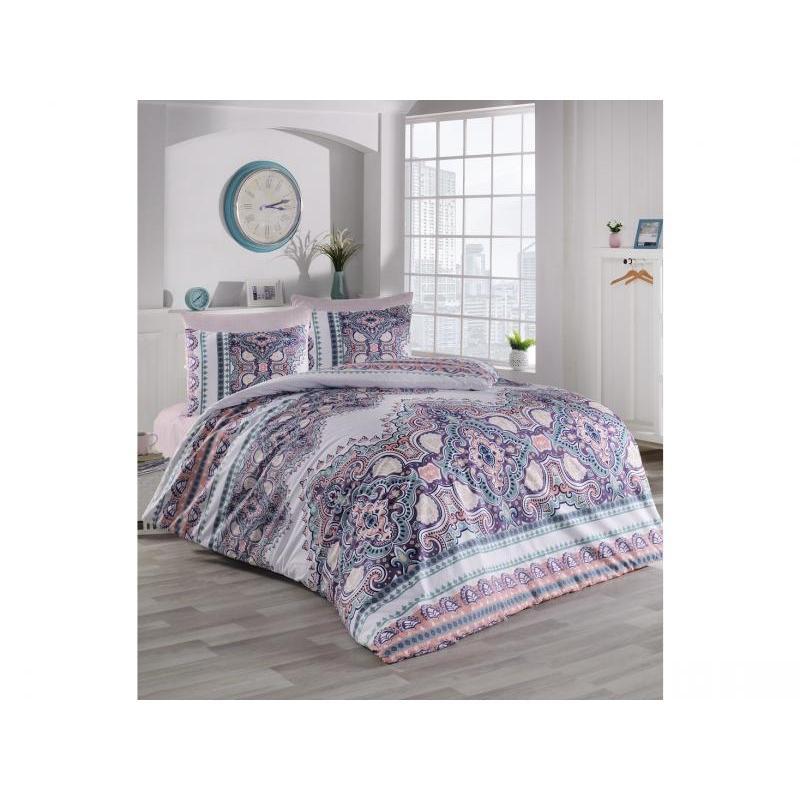 Bedding Set double-euro KARNA, RANFORCE, MASAL, multicolour ranforce bedroom set cotton box ranforce bedroom set