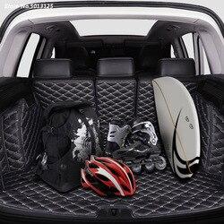 Samochód All inclusive mata do bagażnika bagażnika samochodu tacka liniowa tylny bagażnik akcesoria dla Toyota RAV4 RAV 4 2019 2020 samochodów stylizacji -
