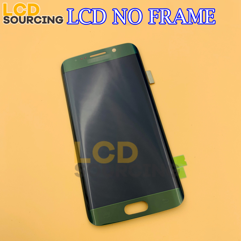Image 2 - 5.1' AMOLED for Samsung Galaxy S6 Edge G925 G925F G925A LCD Display Touch Screen Digitizer Monitor Assembly FOR S6 Edge Replace-in Mobile Phone LCD Screens from Cellphones & Telecommunications