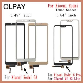 For Xiaomi Redmi 6A Redmi 6 Pro Touch Screen Digitizer For Xiaomi Mi A2 Lite Touch Panel Touchscreen Sensor Front Glass 10pcs lot for xiaomi redmi 6 redmi 6a touch screen digitizer touch panel sensor front outer glass for redmi 6 touch
