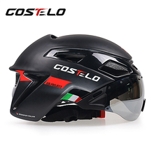 2017 costelo Cycling Helmet Light MTB Road Bike Helmet Speed Helmet Airo RS Men Women Safety Glasses 230g
